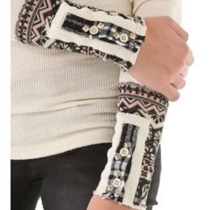 Free People Hyperactive Hippie Cuff Thermal